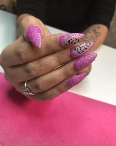 Stiletto Nails Nail Art